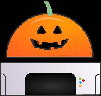 Domo Bonzinho Halloween
